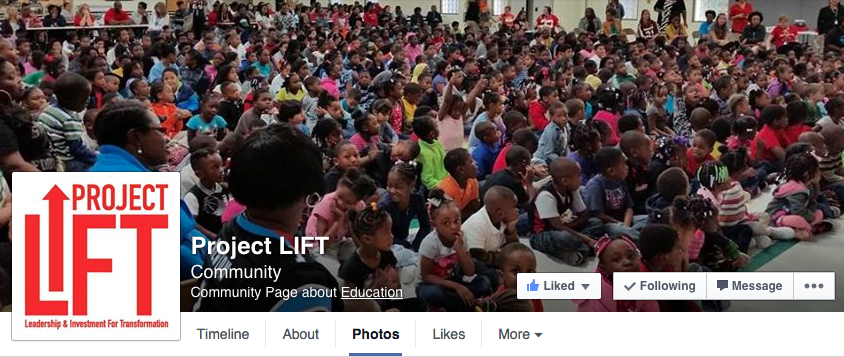 Project L.I.F.T. Facebook Page